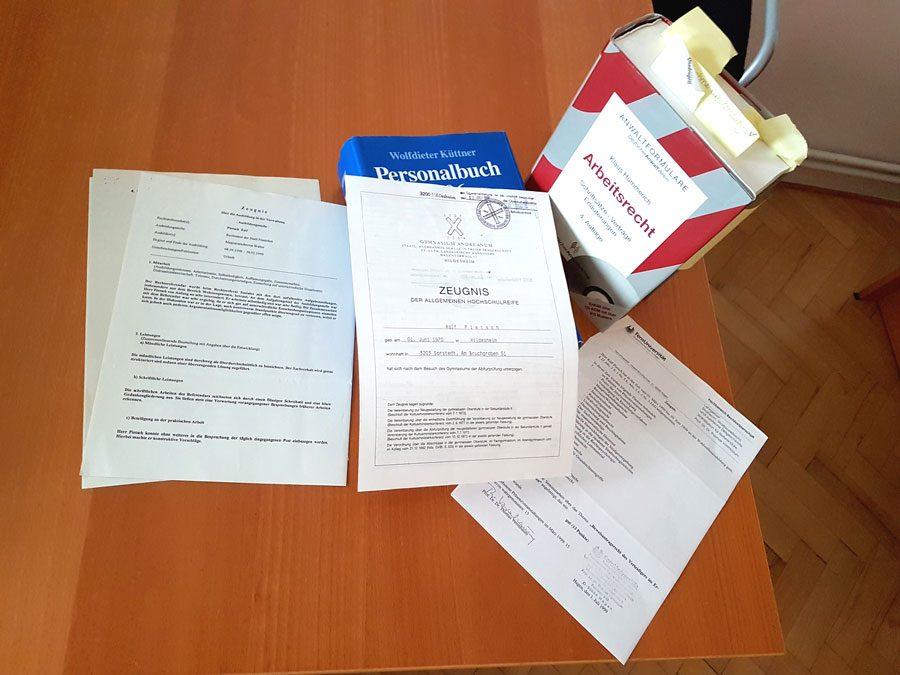 Das Arbeitszeugnis und seine Tücken: | Pietsch & Kollegen ...